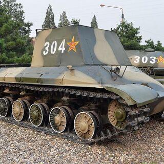 Опытный образец WZ-111 в Танковом музее в Пекние.