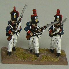 Гренадеры 11-го пехотного батальона.