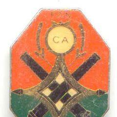 Эмблема артиллерии Нигера для ношения на нагрудном кармане.