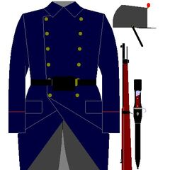 Люксембургский пехотинец, 1906 год.