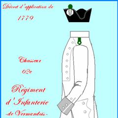 Униформа с 1779 по 1791 года.