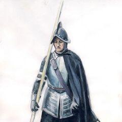 Испанский пикинёр 1570 - 1600.