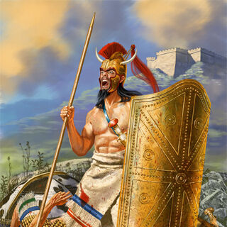 Герой Троянской войны <a class=