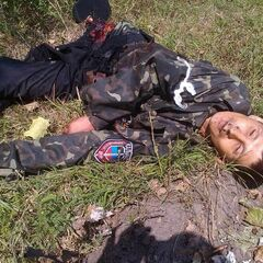 Убитый боец батальона