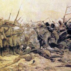 Битва у Абу Клеа 17 января 1885 года.