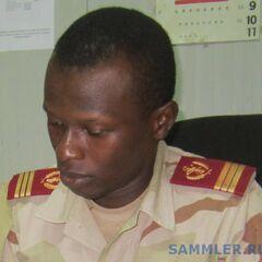 Капитан медицинской службы армии Буркина Фасо.