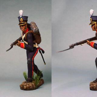 Фигурка фузилера 7-го батальона.