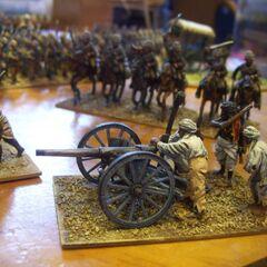 Махдитская артиллерия.