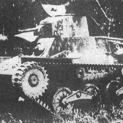Первый прототип танка Ха-Го после второго этапа доработок, 1934 г.