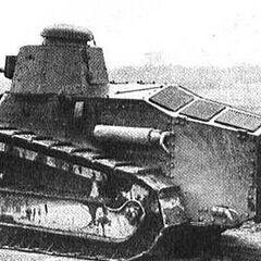 Танк M1917А1.