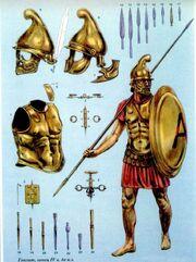 Гоплит 4 век до н. э.99