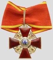 Знак ордена анны 2