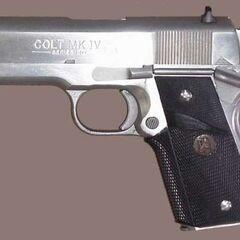 Colt Officers' model .45ACP — компактная модель.