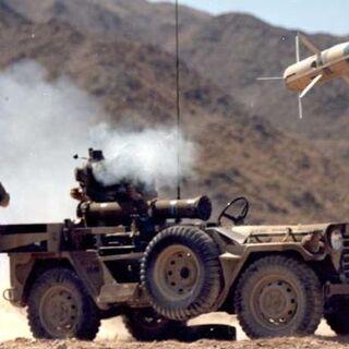Ракета после выхода из ПУ.