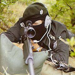 Снайпер с винтовкой <a href=