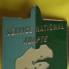 Эмблема Национальной службы адаптации.
