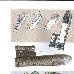 Булатные и железные налокотники/наручи - <a class=