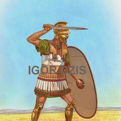 Ливиец середины III в. до н. э.