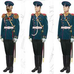 Офицеры в парадной форме, 1907 - 1914 гг.