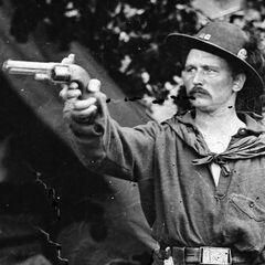 Капитан Шварц из 39-го Нью-Йоркского добровольческого полка с его <a class=
