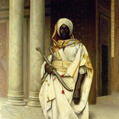 Эмирский гвардеец.