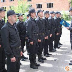 Бойцы роты