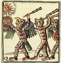 Aztec Warriors (Florentine Codex)