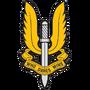 Эмблема SAS