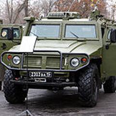 КШМ Р-145БМА на выставке Интерполитех-2008.