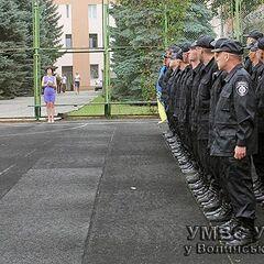 Принятие присяги на верность украинскому народу бойцами