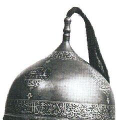 Цельнокованный булатный шлем - Болат дулыга.