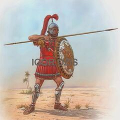 Карфагенский копейщик, III в. до н. э.