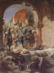 300px-Benjamin-Constant-The Entry of Mahomet II into Constantinople-1876