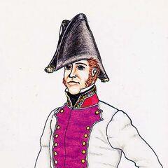 Хирург 9-го линейного полка, 1815 г.