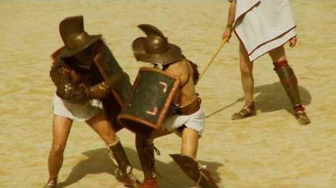 Gladiators fight & Arenas