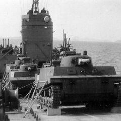 Японские плавающие танки Тип 2