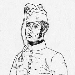 Рядовой 2-го линейного полка в повседневной форме, 1807 г.