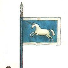 Значок эскадрона Скаржинского.
