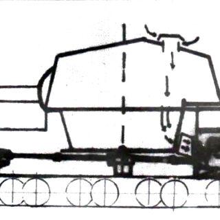 Схема танка.