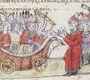 Древнерусский корабль на колесах