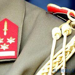 Знаки различия полковника подразделения коммандос.