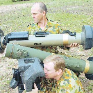 Австралийские солдаты осваивают