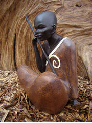 Baggara Warrior Tribes Man Ornament