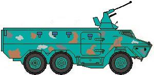 Ratel anti aircraft Jordan