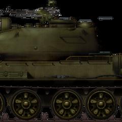 Тип 58-IIM (модифицированный) во время советско-китайского пограничного конфликта, 1969 г.