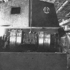 Установка трансмиссии в корпус Чи-Ну.
