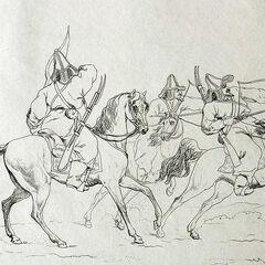 Французская гравюра XIX века.