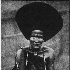 Женщина Хадендоуа.