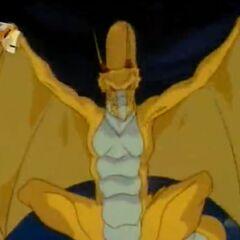 Дракон из щита Артура.