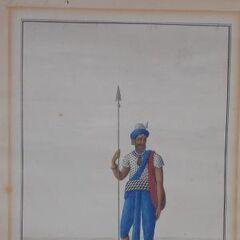 Предположительно, изображение Акали, датируемое XIX веком.